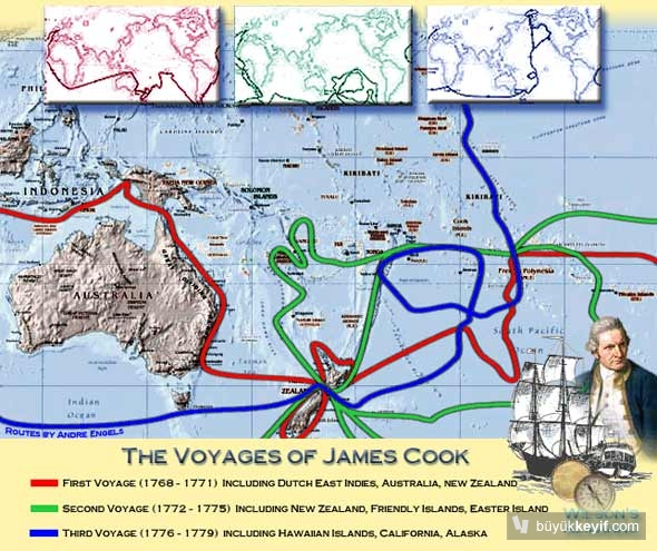james cook roates