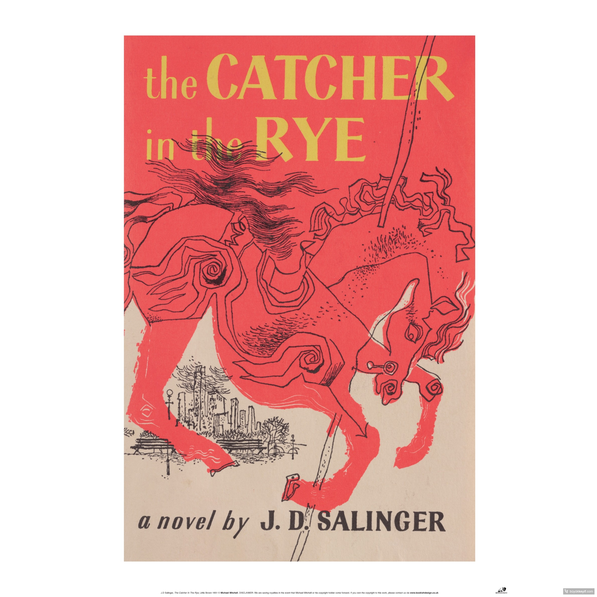 a study of the holden caulfield in the catcher in the rye by j d salinger