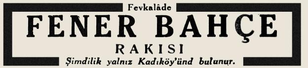 FENERBAHCE RAKISI
