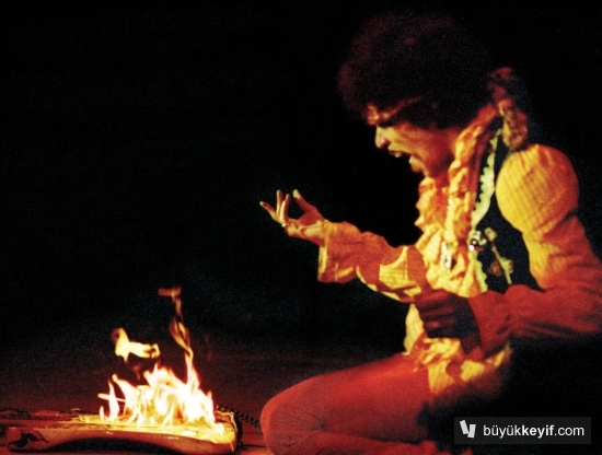 Jimi Hendrix Fire big