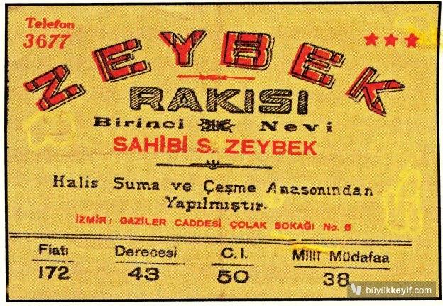 ZEYBEK RAKISI- 3783903