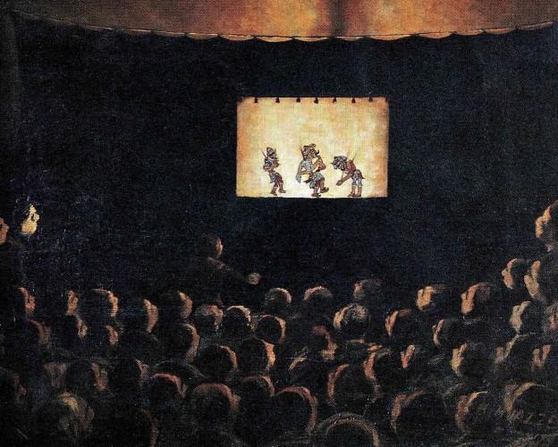 DEVLET SOHBETİ- Karagoz- Ressam Muazzez- 2