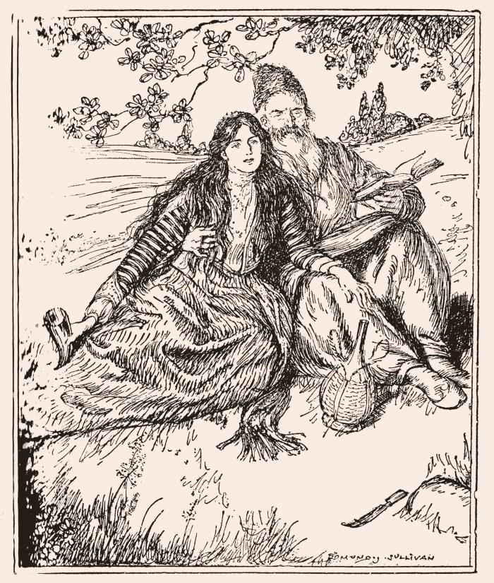 ÖMER HAYYAM-Edmund_J_Sullivan_Illustrations