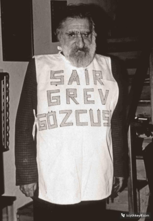 YUCEL, CAN-SAIR GREV GOZCUSU