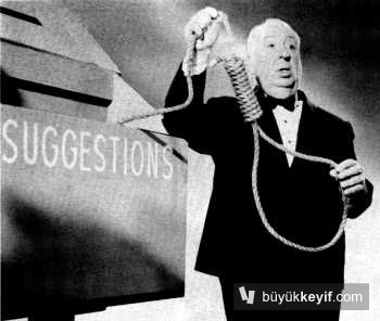 Hitchcock ve halatı.