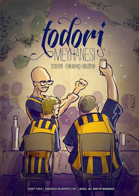 Şerefine Fenerbahçe...