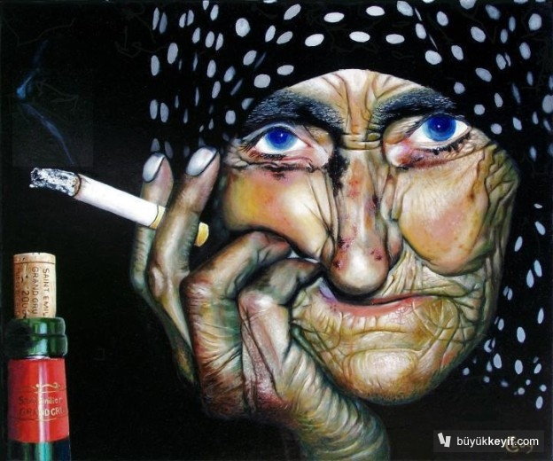 Bir sigara yak, keyfine bak....