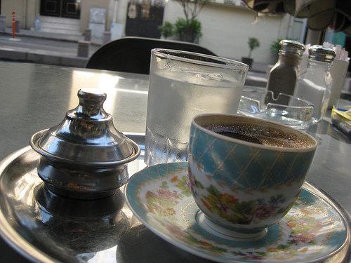 40 yıl hatırını olan kahvemiz...