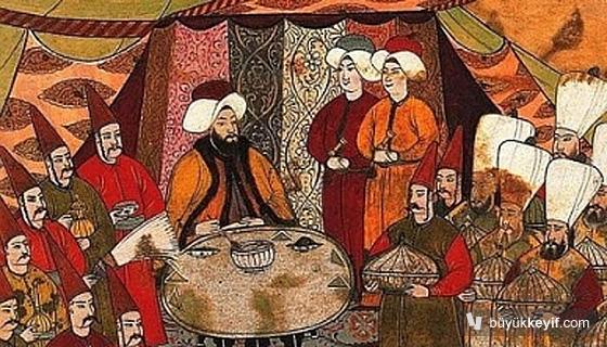 Osmanli da yemek kulturu....