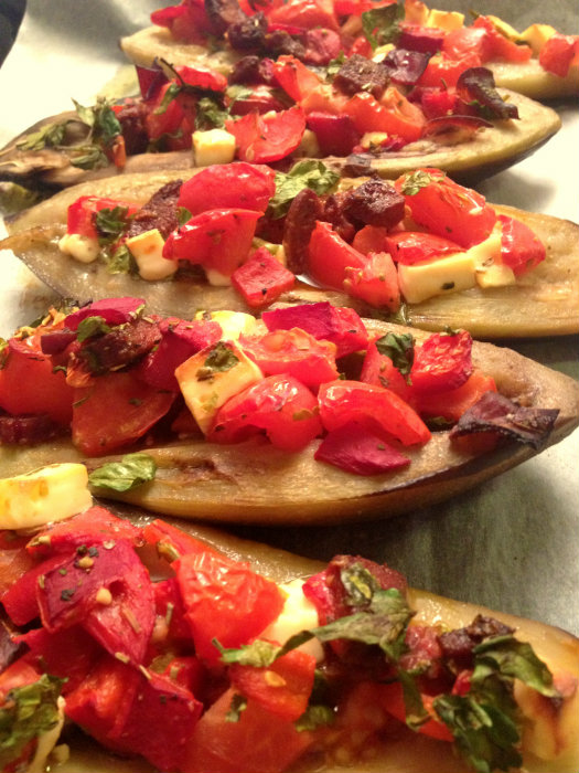 Sucuklu Patlıcan