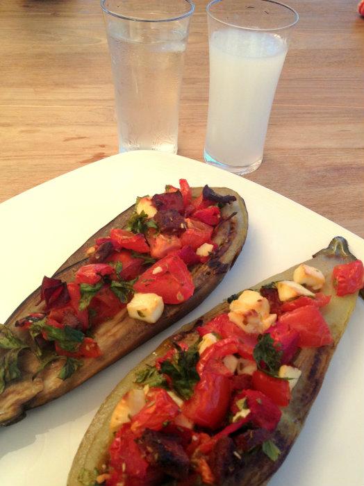 patlıcan masada