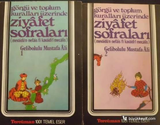 Gelibolulu Mustafa Ali'nin eserleri...