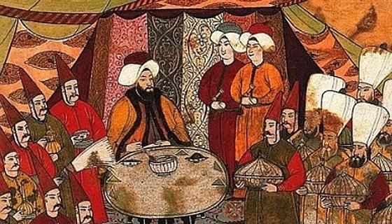 Osmanlı'da yemek kültürü....